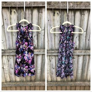 Dresses & Skirts - Reversible floral dress, so cute, but no tags! ?M